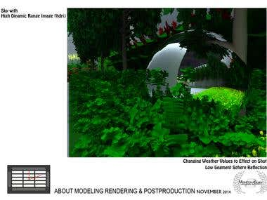 SketchUp and Vray render and presentation