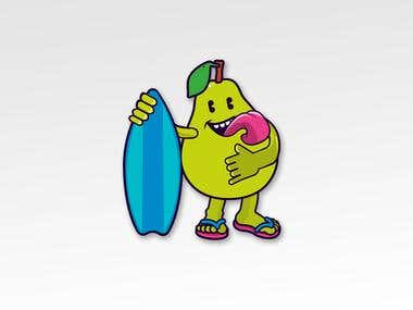 Surfboard Pear!
