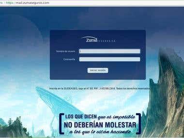 Servidor de Correo mail.zumaseguros.com