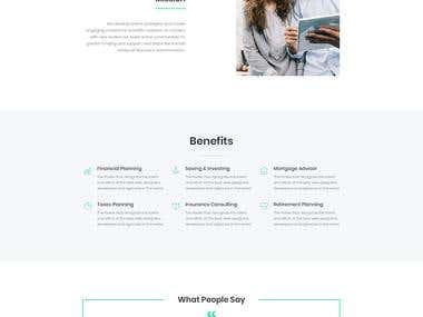 Web Design for Corporate Website of IT Services Provider