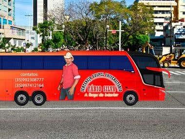 Perspectiva de personalização de ônibus