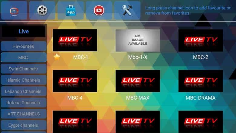 IPTV app for Android TV   Freelancer