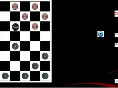 Checkers Game in C++ MFC