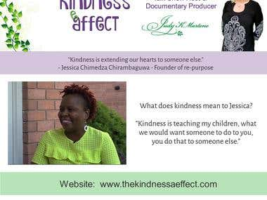 Adverts for The Kindness Affect