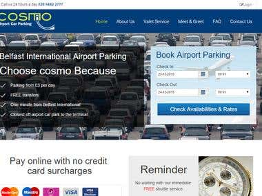 COSMO PARKING(RESERVATION AND POS)