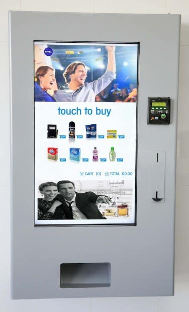 Vending Machine Application