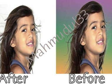 Image/Product Background Change, Clipping Path, Image edit