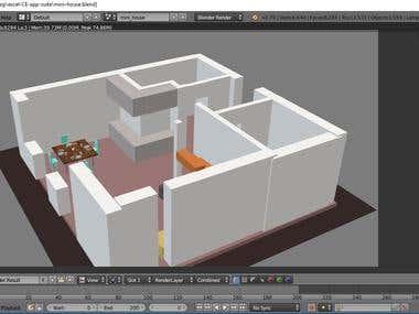 3D Rendering & Modelling