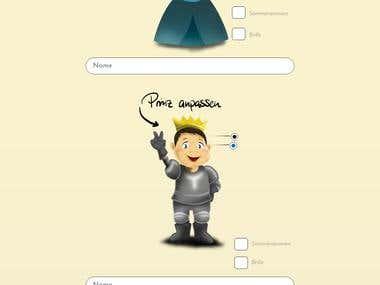 Fairytoon Kids Stories Customizer Website