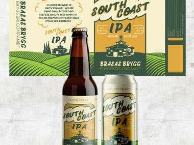 South Coast IPA - Label