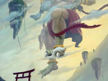 Illustration for game