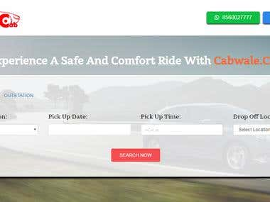 Cab Service Website