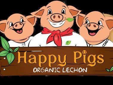 Happy Pigs Branding