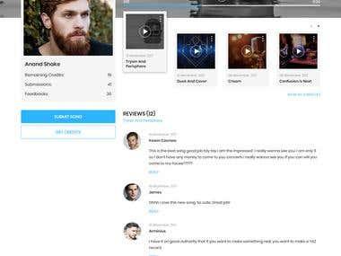 Web App For Musicians