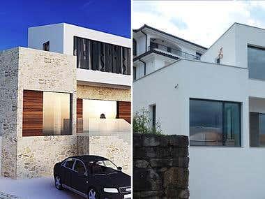 Realized objects - seaside house