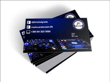 Business cards , brochure and flyer