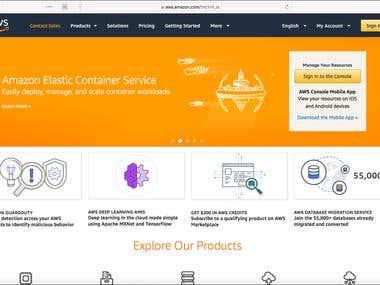 AWS Configuration & Deploy
