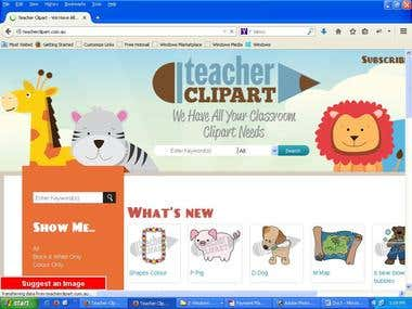 Cakephp web site