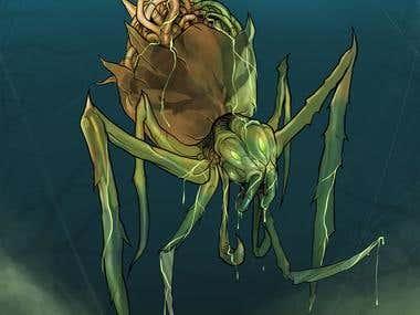TREACHA SPIDER
