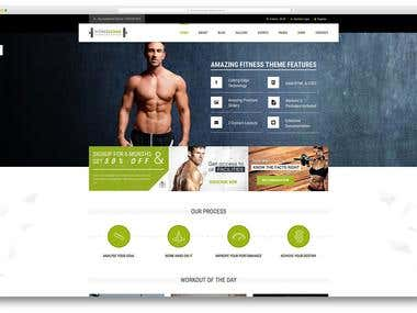 Website - Fitness