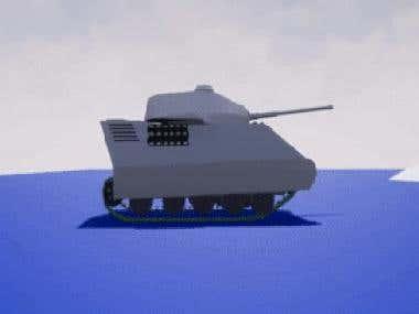 UE4 Battle Tank