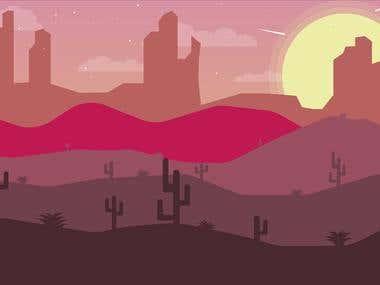Animação do Deserto