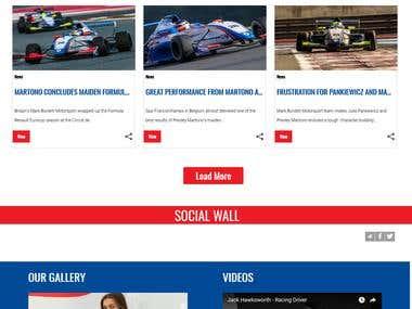 Mark Burdett Motorsport www.burdettmotorsport.co.uk