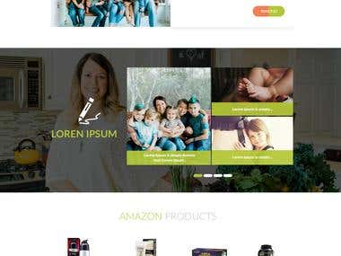 Nature Alisa UI UX design