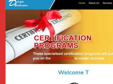 CERTIFICATION PROGRAMS.