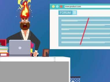 A funny VIDEO animation for Quark.ai