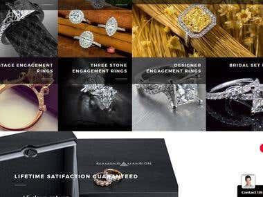 Jewelry Store eCommerce