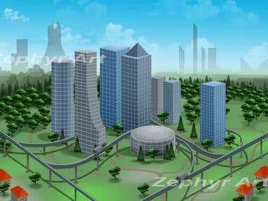 City concept design