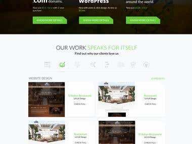 Jam Web landing Page UI & UX