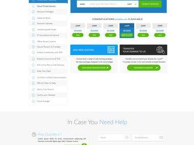 Smart World Website UI & UX Design 7 pages