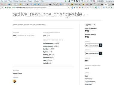 Author of active_resource_changeable rubygem