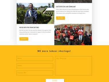 Farmers Website Design