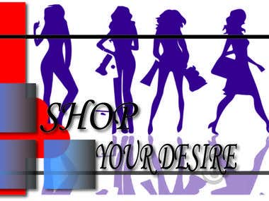 Logo designed for female product and accessories