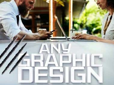 Any graphic designer