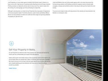 Just Properties Website