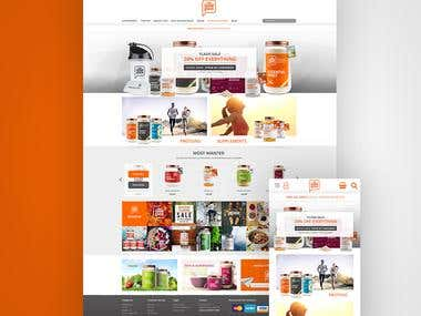 The Good Guru Health Supplements eCommerce