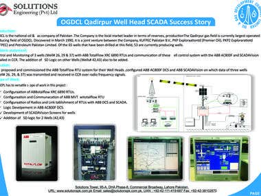 Commissioning of Wellhead RTU SCADA