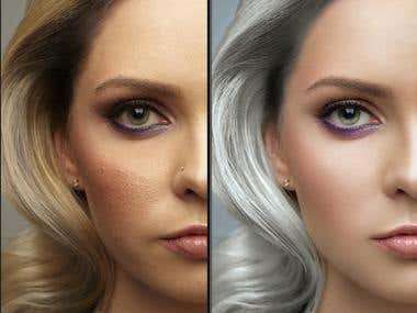 Photo and retouch for the catalog 711 colorbar