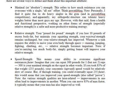 Technical Fitness Translation