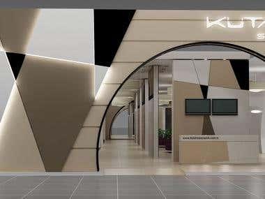 Exhibition Stand Design - Fair Stand Design Renders