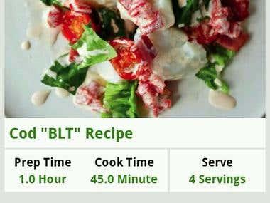 Smart Recipes