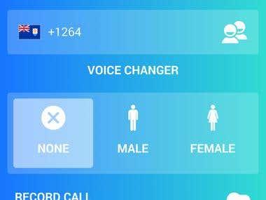 VoIP app - FakeCallerID