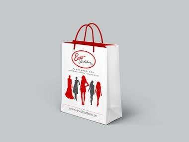 Eva Butiken Shopping Bag