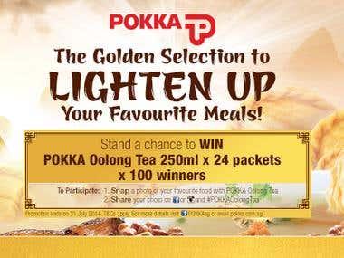 Pokka Oolong Tea Facebook Cover
