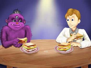 Children Storybook Illustrations