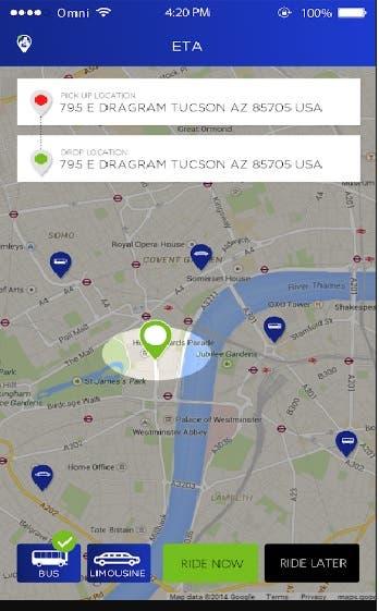 ETA(Rider&User) - Taxi Application